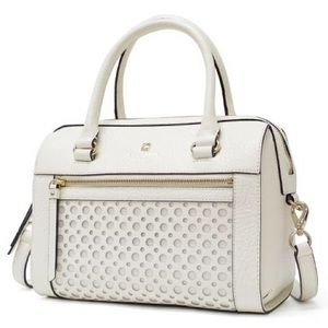 Kate Spade Delaney Perri Lane Bubble White Bag